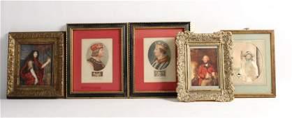 Five Portraits of Men