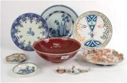Sang de Boeuf Porcelain Circular Bowl