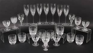 "Nine Waterford ""Carina Essence"" Tumbler Glasses"