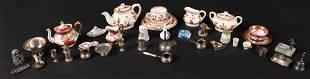 Group of Miniature Doll Furnishings