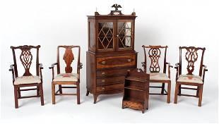 Mahogany Doll House Furniture