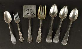 Group of Sterling Silver Flatware Serving Pieces