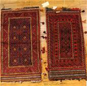 Two Caucasian Saddle Bags