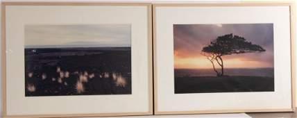 Two Cibachrome Prints, Hawaiian Landscapes