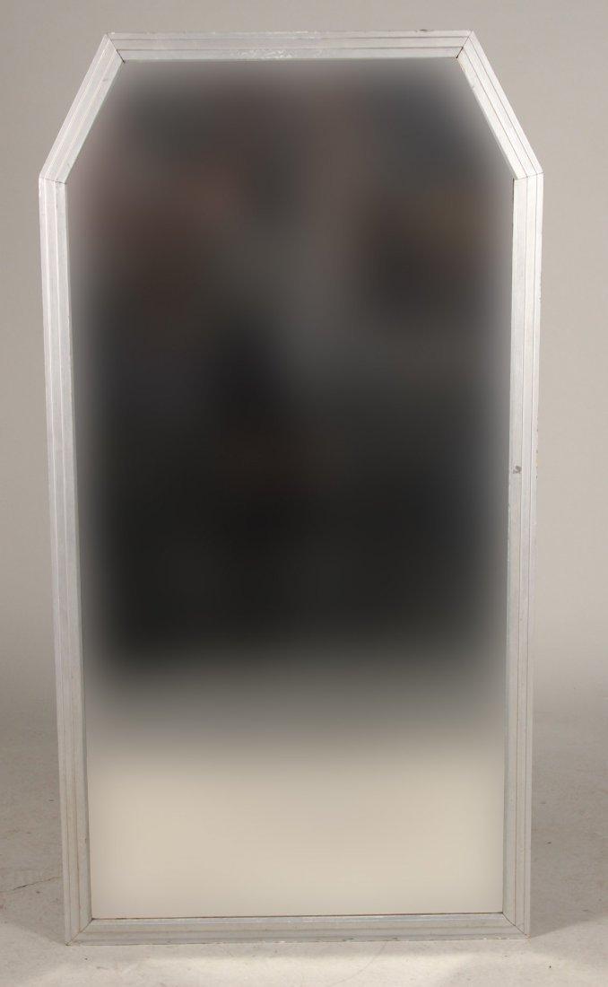 Art Deco Silver-Gilt Pier Mirror