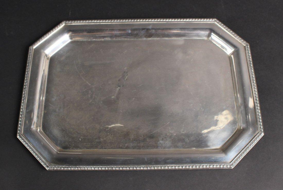 Redlich Sterling Silver Rectangular Tray