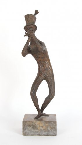 Bronze Sculpture Of Pan, Ursula Hanke-forster