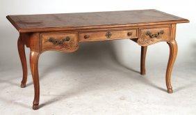 Louis Xv Style Oak Bureau Plat