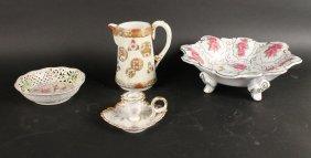Four Porcelain Articles