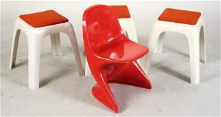 Alexander Begge Casalino I Orange Childs Chair