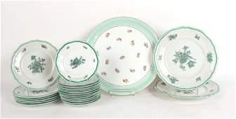 Partial Rosenthal Porcelain Dinner Service