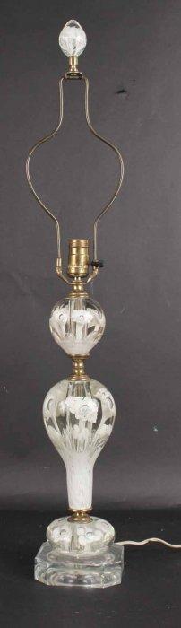 Murano Art Glass Table Lamp
