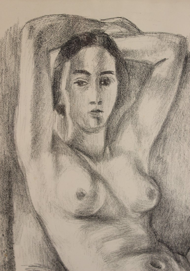 Lithograph, Study of Seated Nude, Henri Matisse - 3