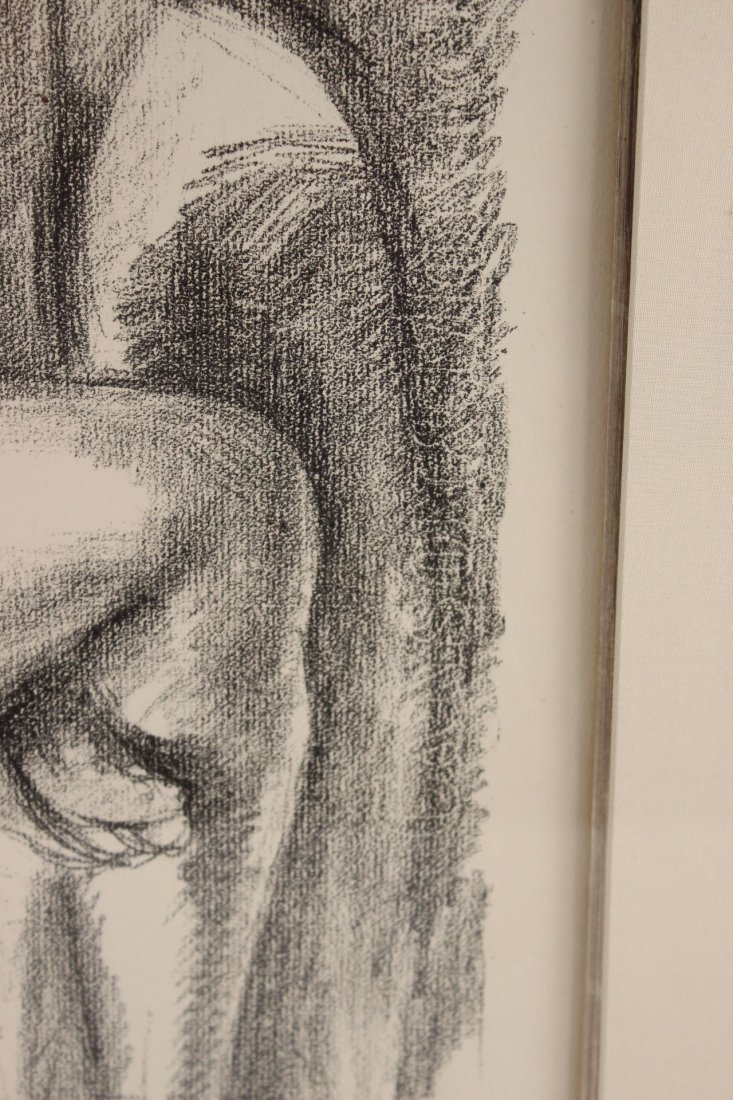 Lithograph, Study of Seated Nude, Henri Matisse - 8