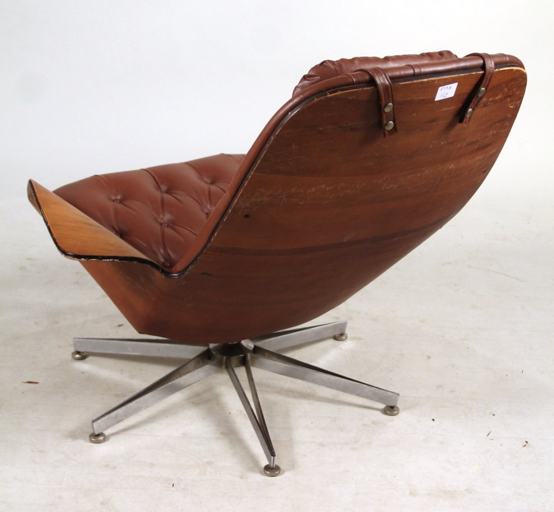 Plycraft Eames Style Lounge Chair & Ottoman - 7