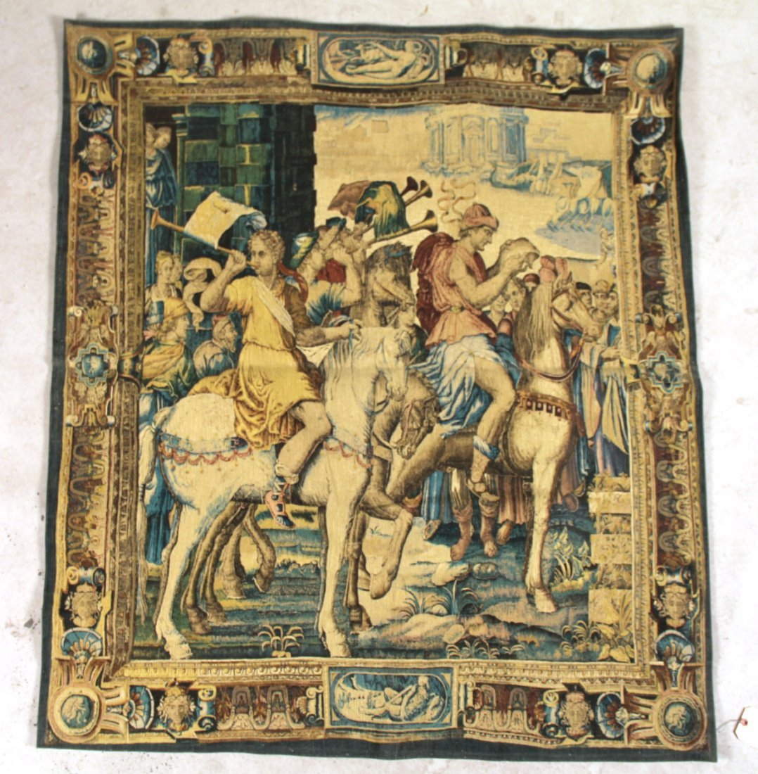 Reproduction Tapestry of Les Herauts