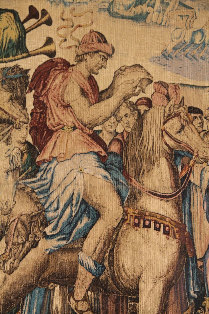 Reproduction Tapestry of Les Herauts - 2