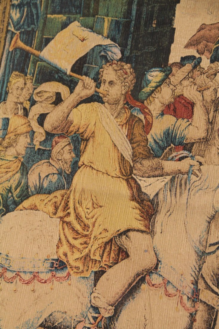 Reproduction Tapestry of Les Herauts - 3