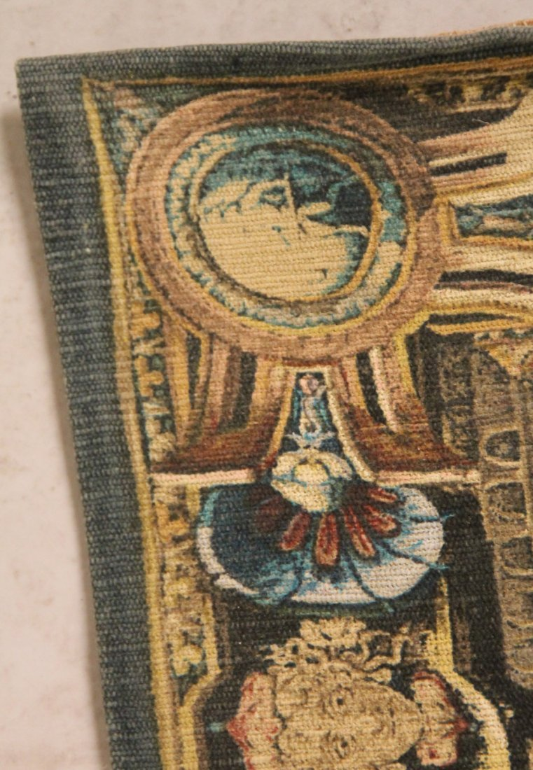 Reproduction Tapestry of Les Herauts - 5