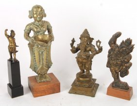 Four Deity Figures