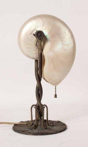 Tiffany Studios Nautilus Table Lamp