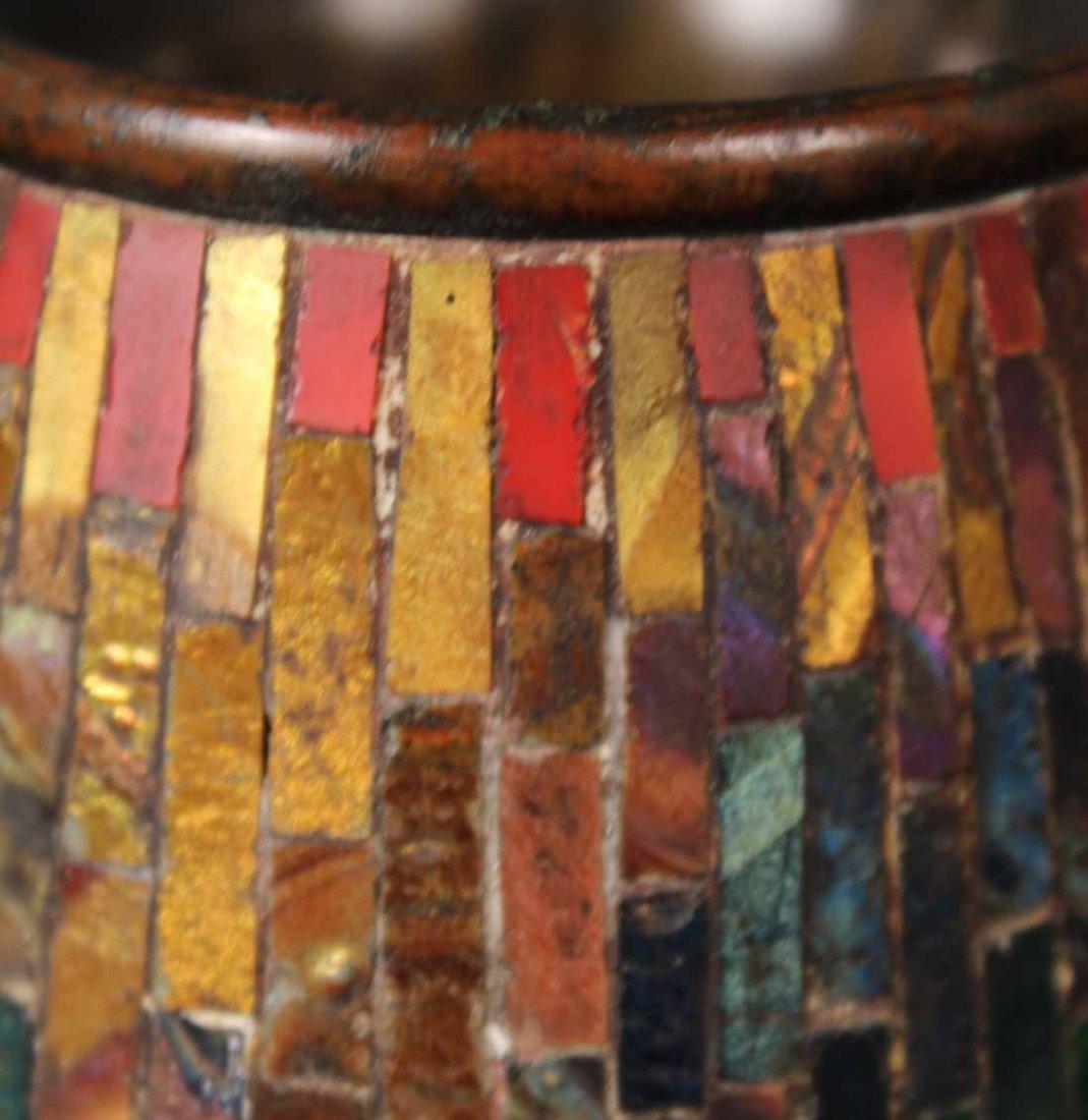 Tiffany Studios Bronze Mosaic Pen Wipe - 4