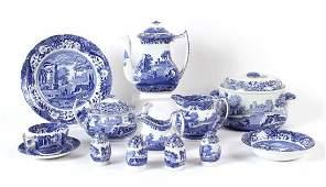 """Spode Porcelain """"Italian"""" Dinner Service"""