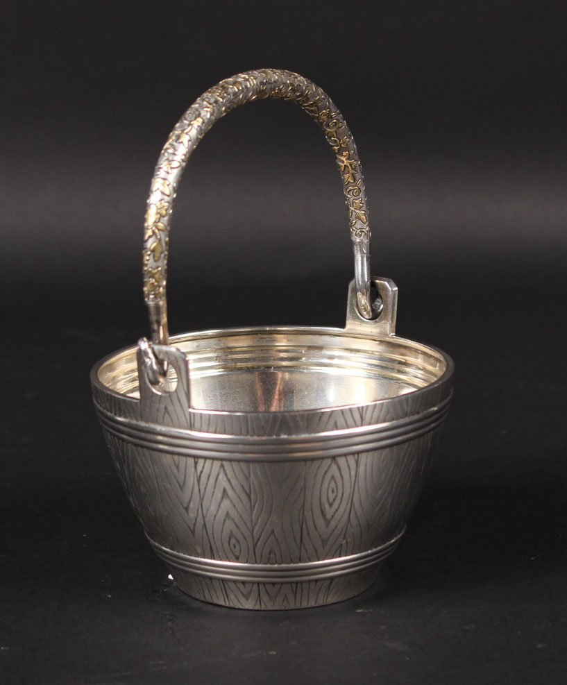 Reproduction Russian Silver Handled Basket