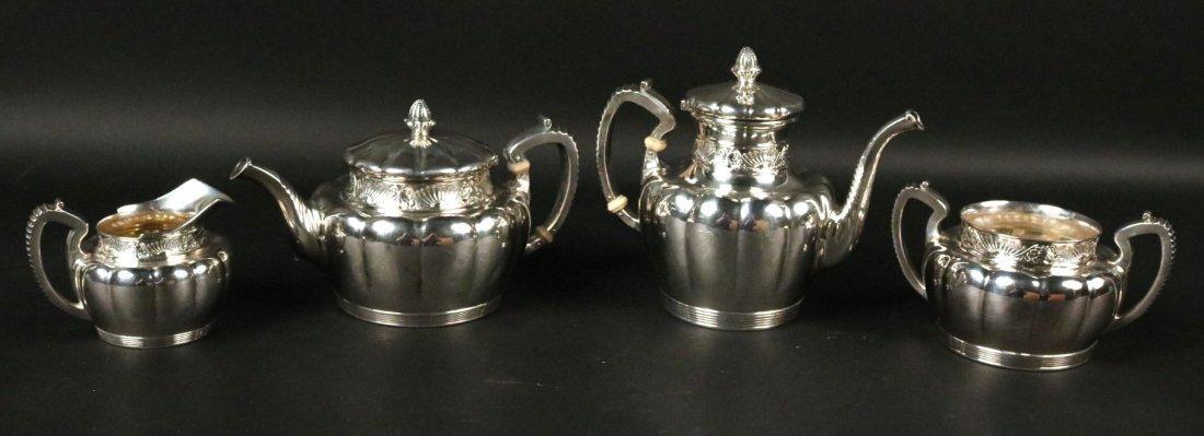 Gorham 4-Piece Sterling Silver Tea&Coffee Service