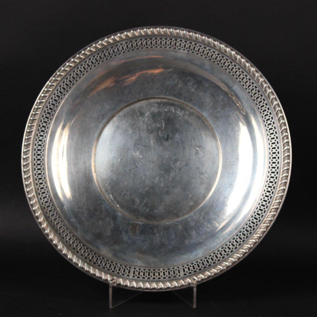 Webster Sterling Silver Circular Tray