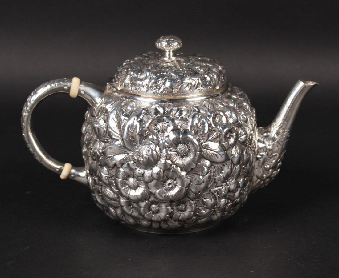 George Shiebler Sterling Silver Teapot