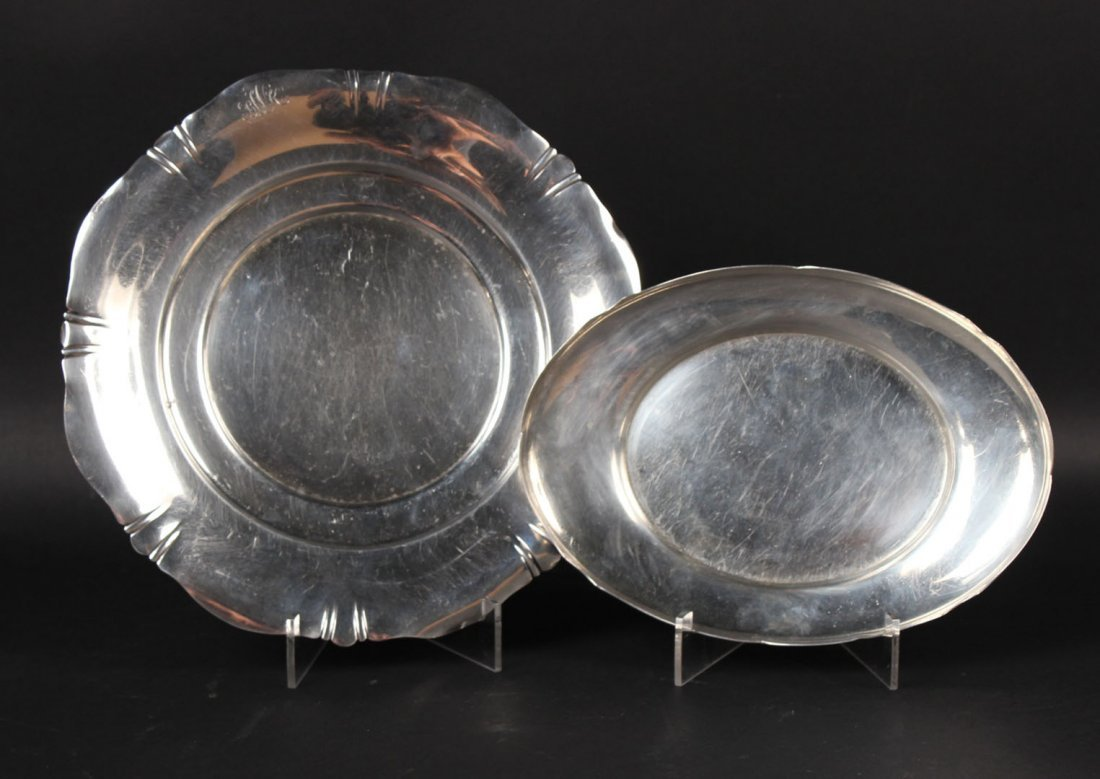 Shreve & Co. Sterling Silver Circular Tray