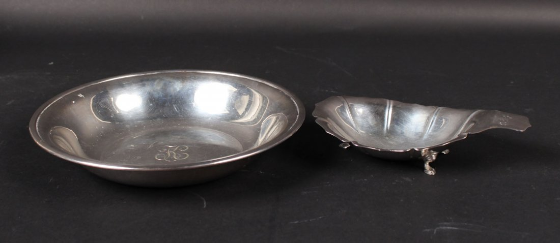 Poole Sterling Silver Circular Bowl