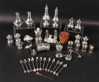 Group of Sterling Silver and Silver Plated Items