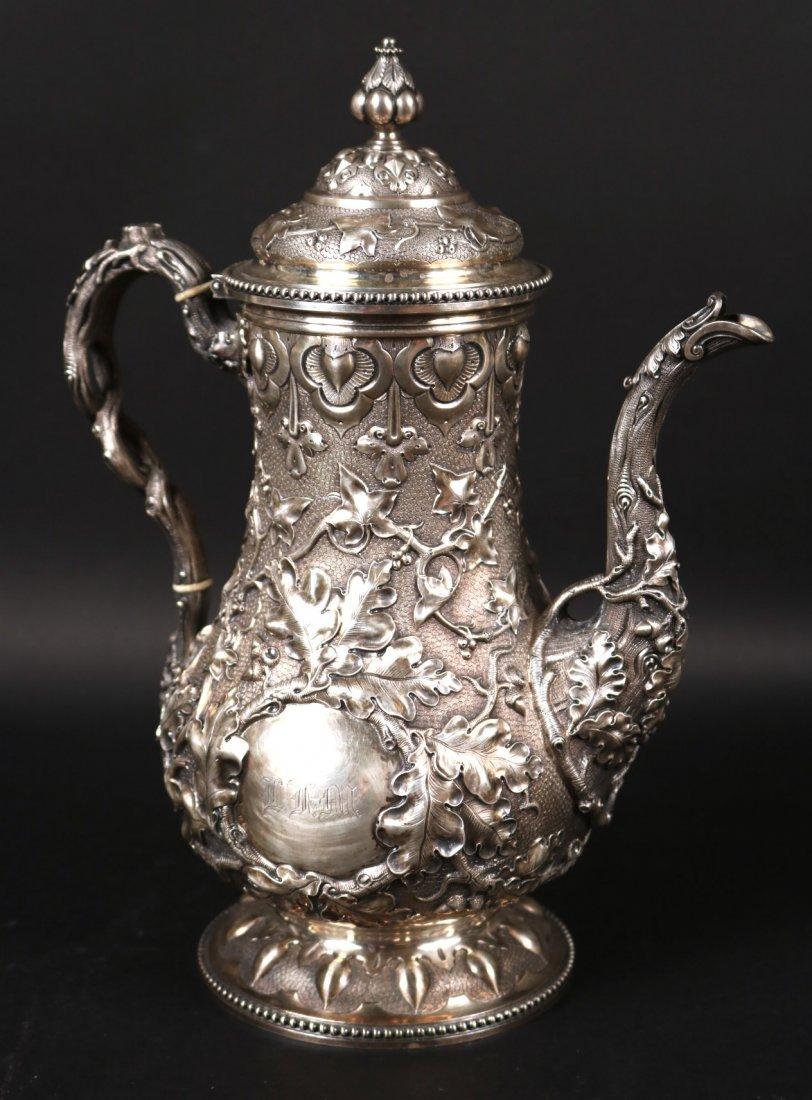 Tiffany&Co Sterling 5-Piece Tea&Coffee Service - 2