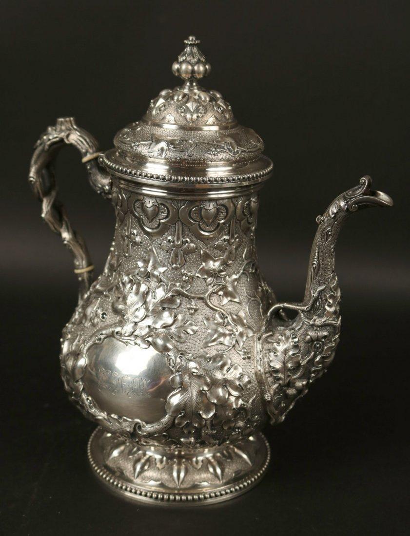 Tiffany&Co Sterling 5-Piece Tea&Coffee Service - 7