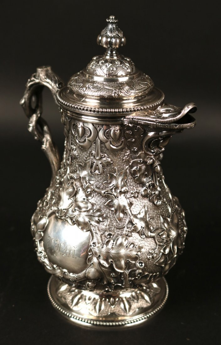 Tiffany&Co Sterling 5-Piece Tea&Coffee Service - 9