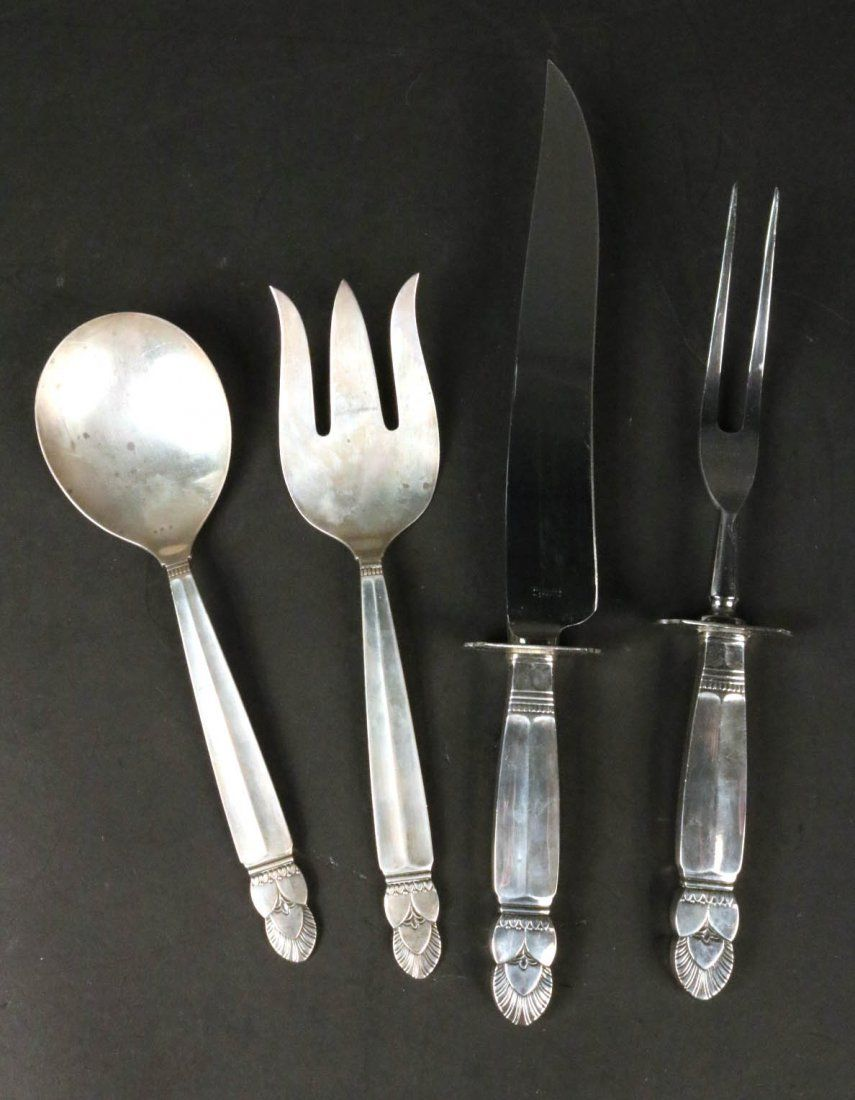 Frank Whiting Sterling Silver Serving Pieces