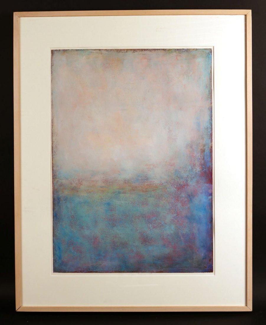 "Etching, ""Blue Egypt,"" Tad Spurgeon"