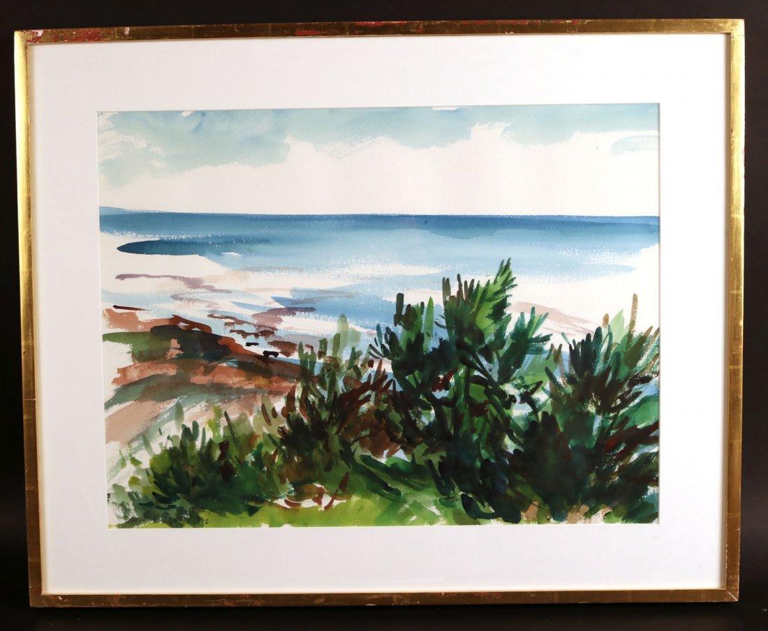 Watercolor, Landscape, Deborah Brown