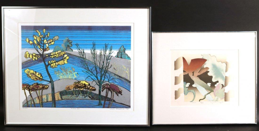 "Lithograph, ""Amazon, Elizabeth Schippert"