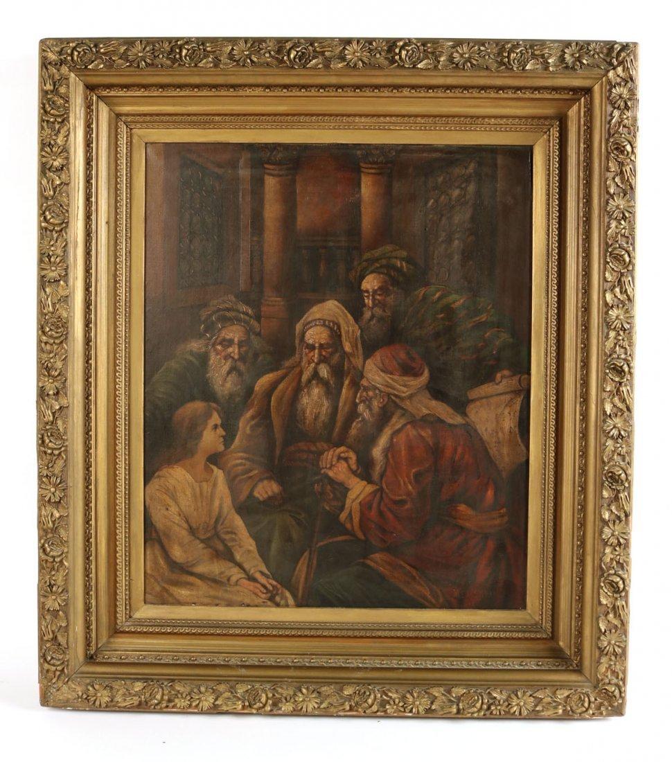 Oil on Canvas, Five Figures, Alexandre Cabanel