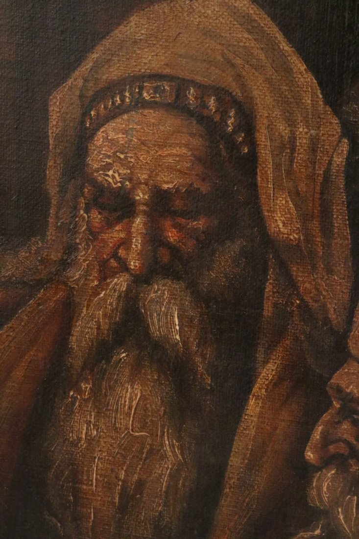 Oil on Canvas, Five Figures, Alexandre Cabanel - 3