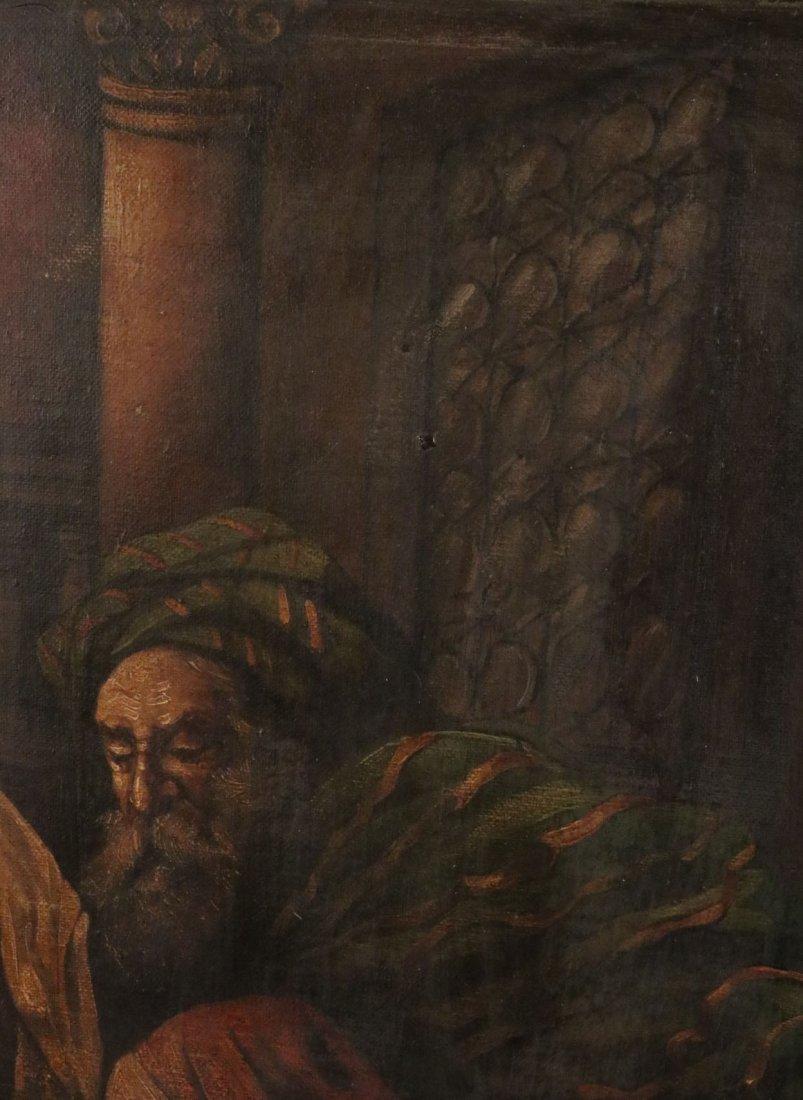 Oil on Canvas, Five Figures, Alexandre Cabanel - 4