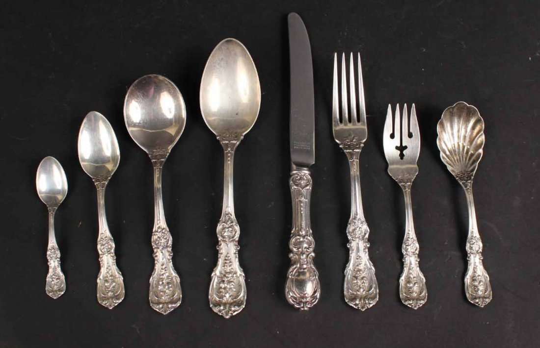 Reed & Barton Sterling Silver Flatware Service