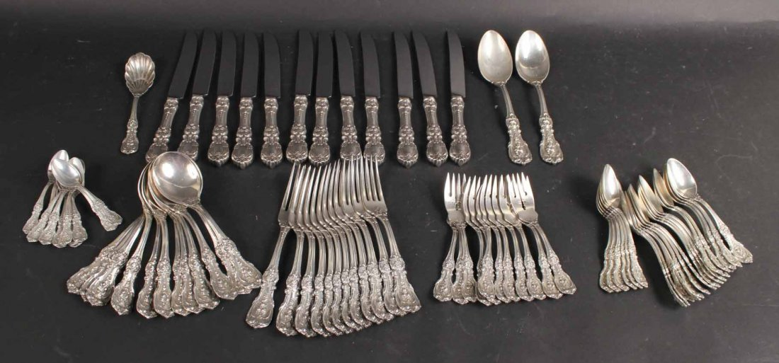 Reed & Barton Sterling Silver Flatware Service - 2