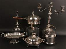 Silver Plated Table Items