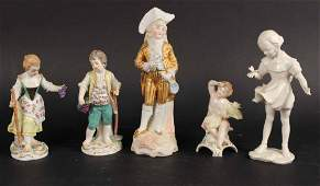 Two German Porcelain Peasant Figures