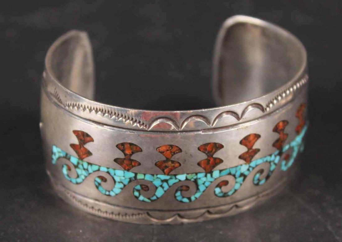 Four Sterling Silver Bangle Bracelets - 5