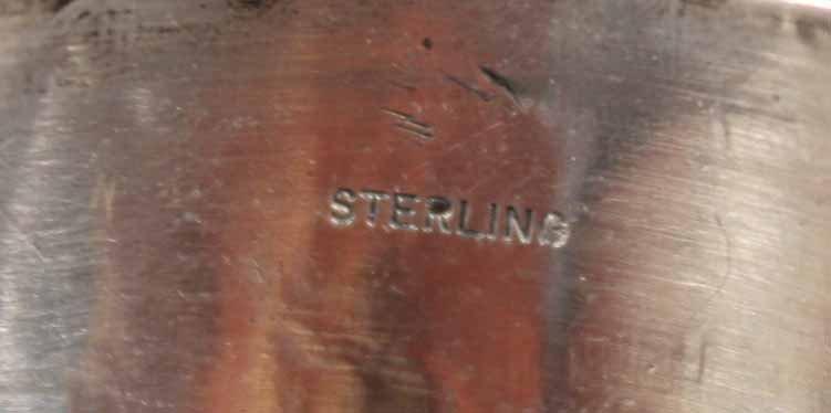 Four Sterling Silver Bangle Bracelets - 6